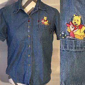 Vintage Disney Winnie the Pooh Jerry Leigh Top